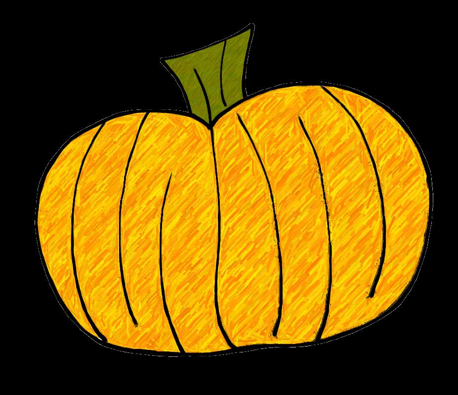 Green pumpkin clipart