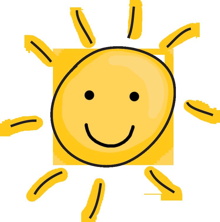 Half sun clipart free images