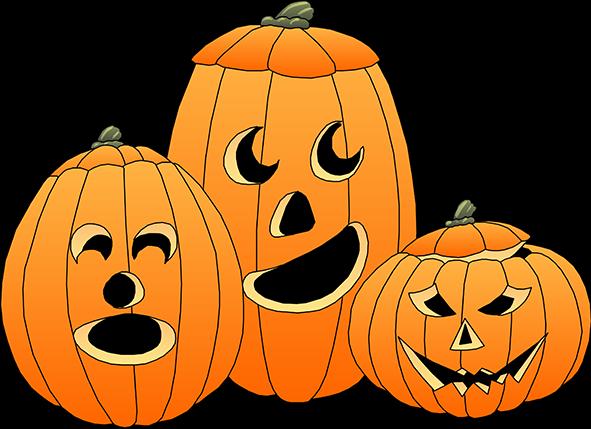 Halloween pumpkins clipart tumundografico
