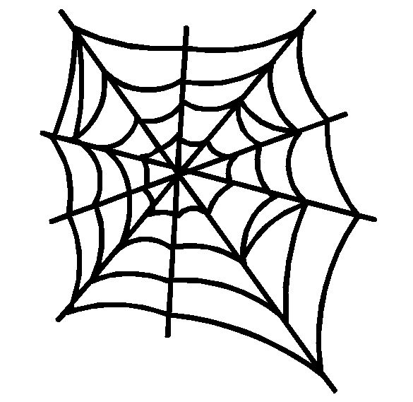 Halloween spider web clipart free images 2
