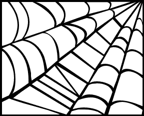 Halloween spider web clipart free images 3