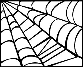 Halloween spider web clipart free images 6