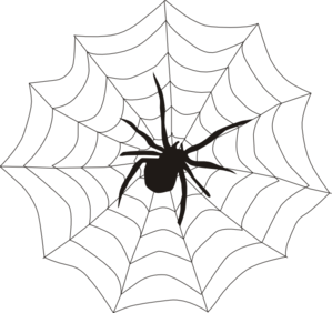 spider web clipart images