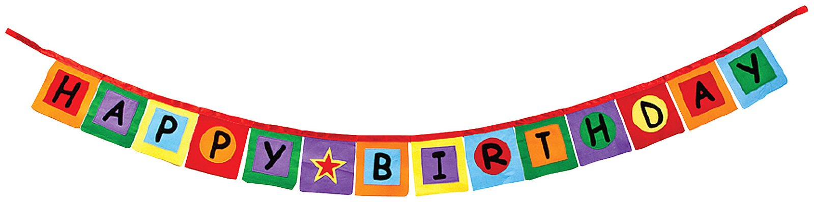 Happy birthday banner clip art free clipart images 2
