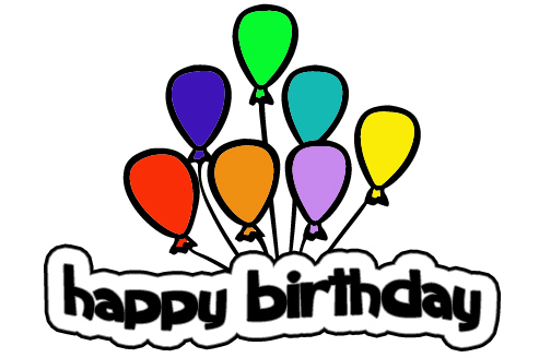 Happy birthday banner clip art free clipart images
