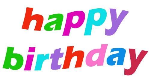 Happy birthday clip art free download