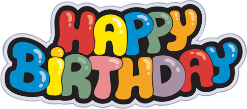 Happy birthday clip art free vector download free