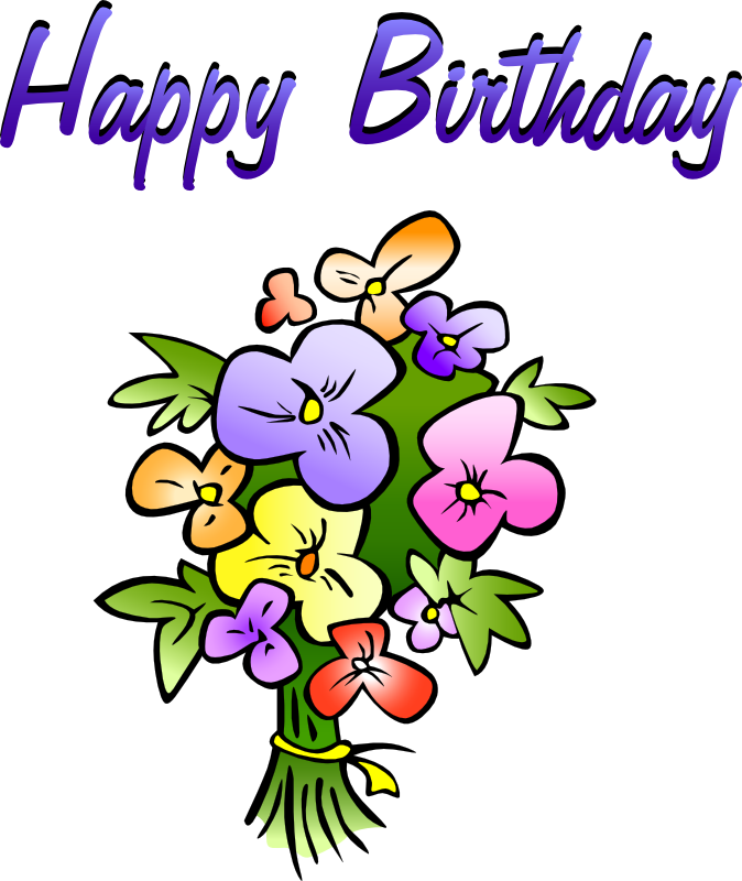 Happy birthday free birthday clipart animations 2