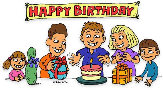 Happy birthday free birthday clipart animations