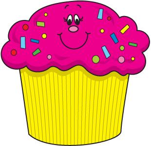 Happy cupcake clipart 2