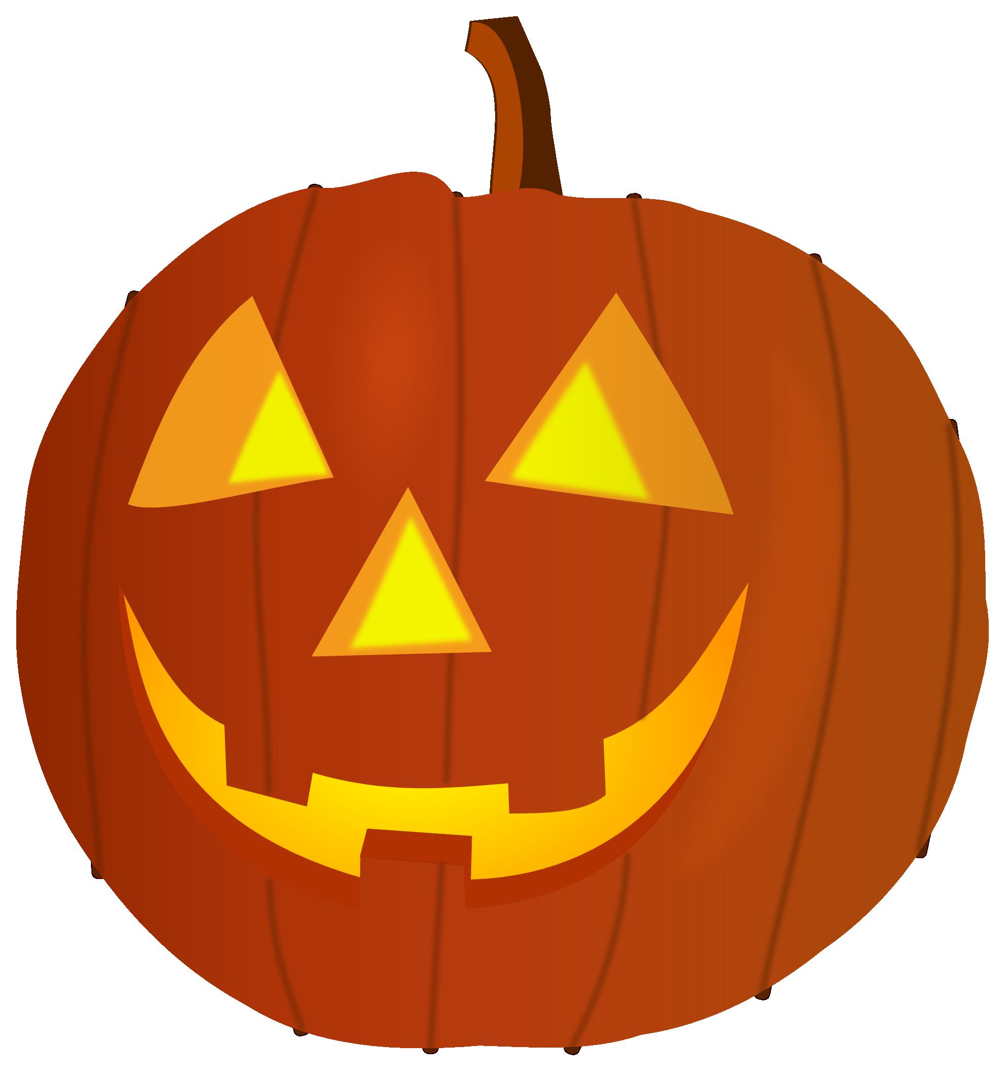 Happy halloween pumpkin clipart free images