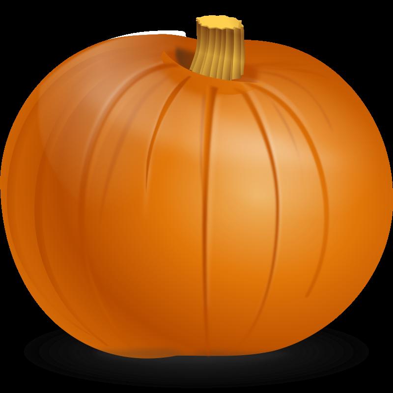 Happy pumpkin clipart