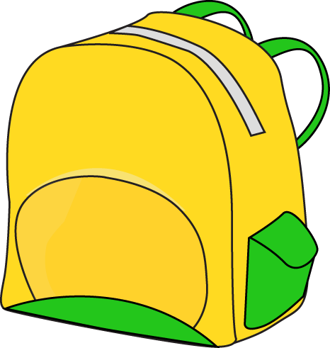 Hiking backpack clipart free images 2