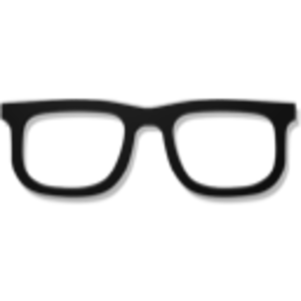 Hipster glasses clipart free images 3