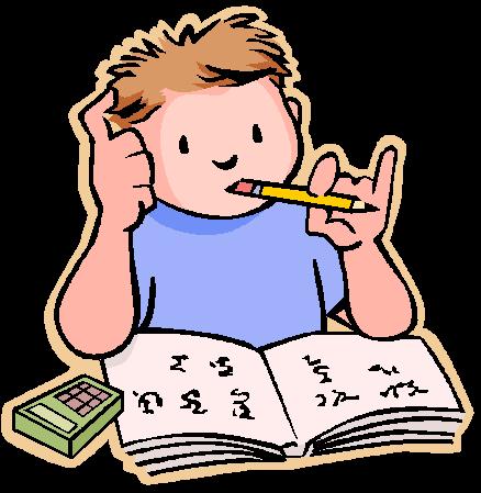Homework clip art for kids free clipart images