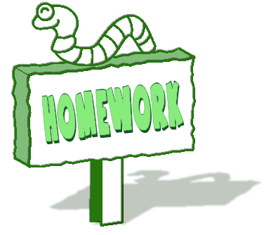Homework clip art free clipart images