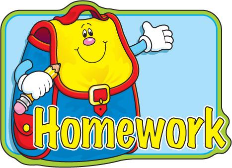 Homework clipart 3