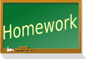 Homework clipart with clip art at clker vector 2