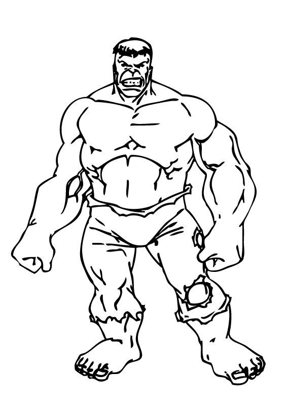 Hulk clip art black and white free clipart images 3