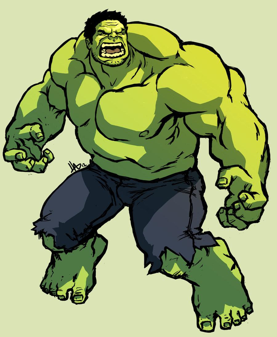 Hulk clip art hostted 3