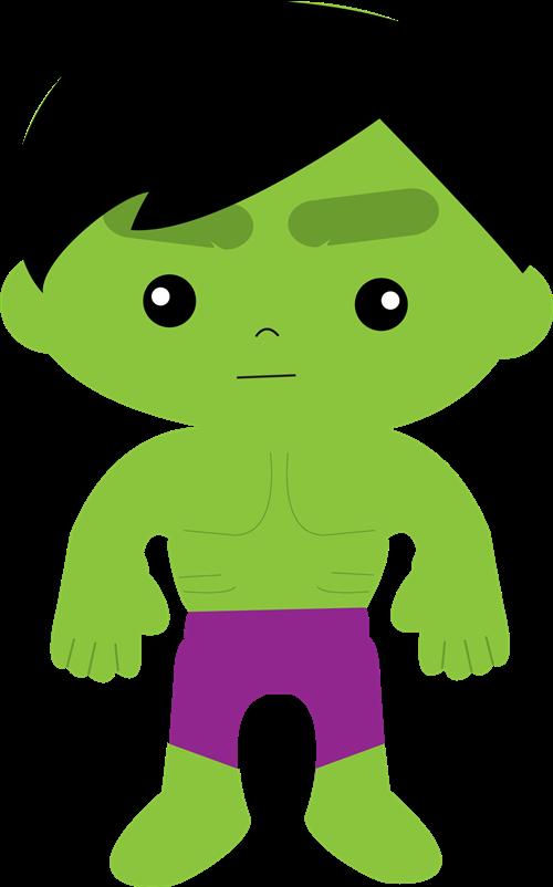 Hulk clipart 3