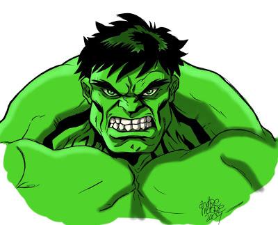 Hulk clipart face