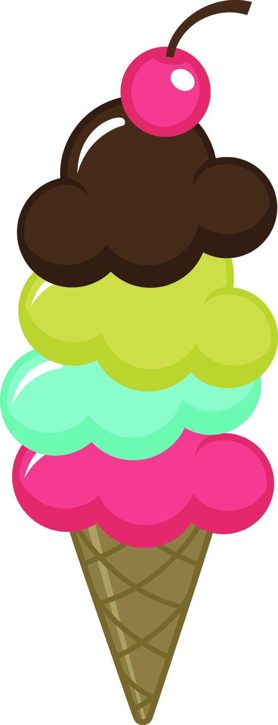 Ice cream cone clip art 2 3