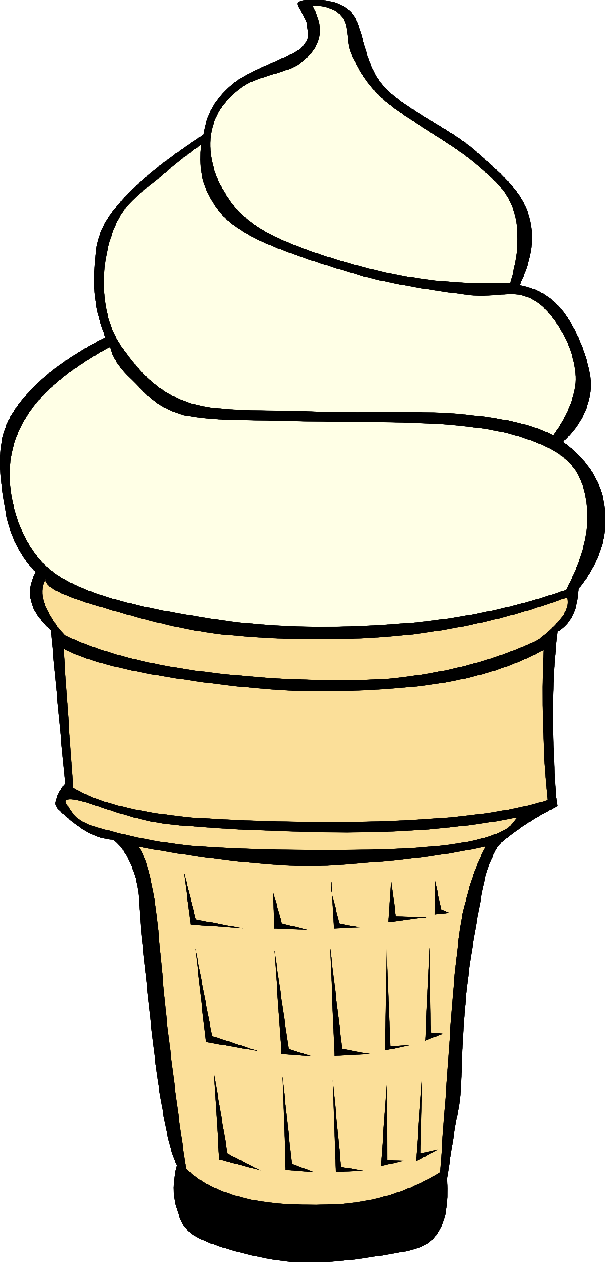 Ice cream cone clip art free clipart images 2