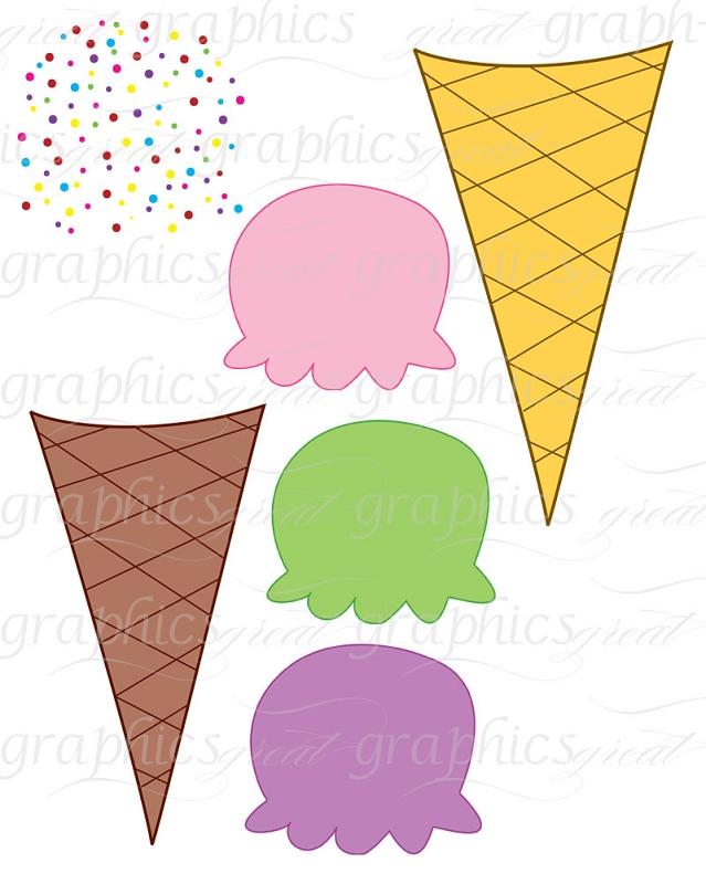 Ice cream cone clipart free images 7