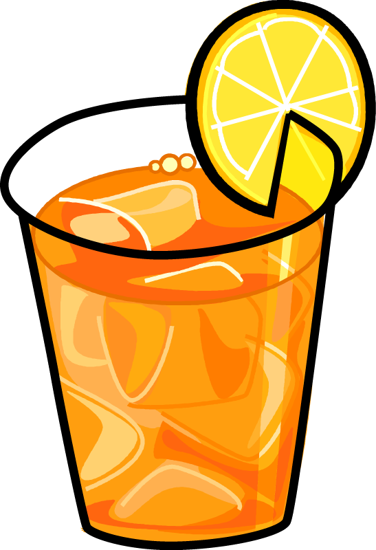 Iced tea clipart free images