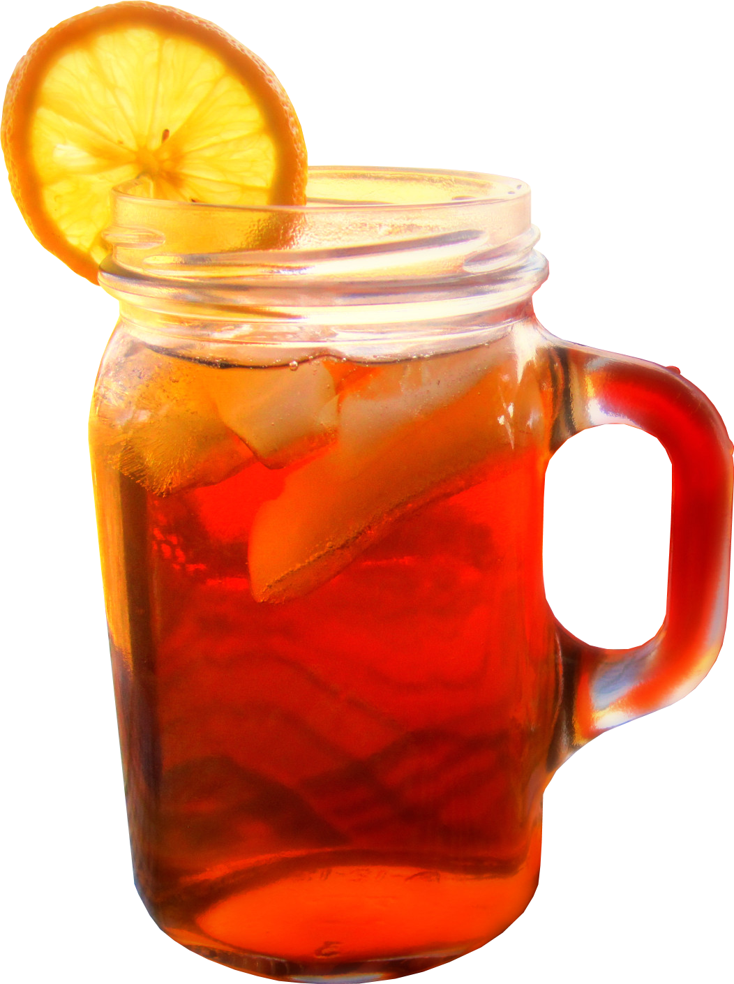 Iced tea clipart mason jar 2
