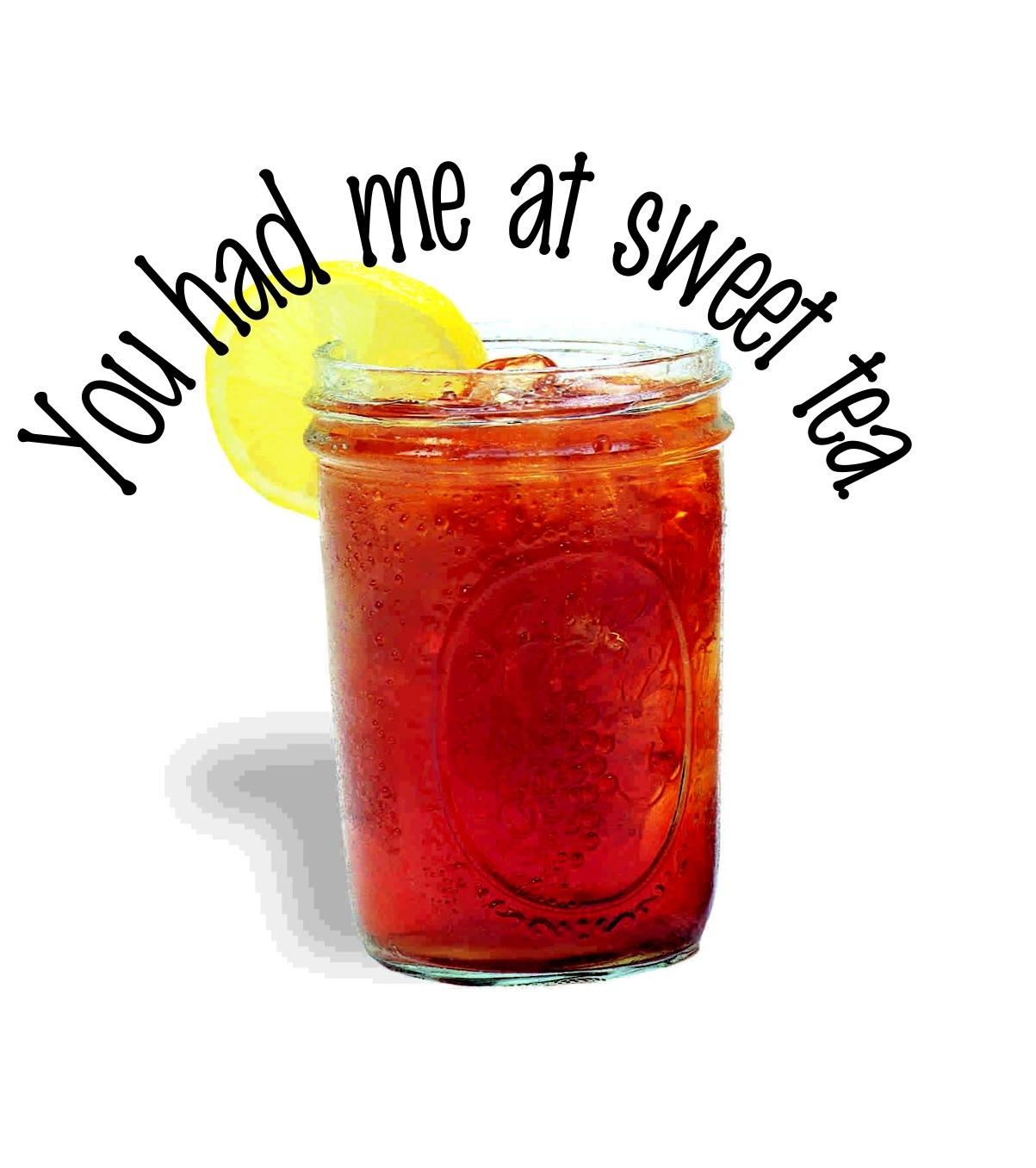 Iced tea sweet tea clip art
