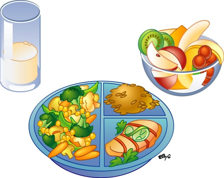 Lunch and snack clipart