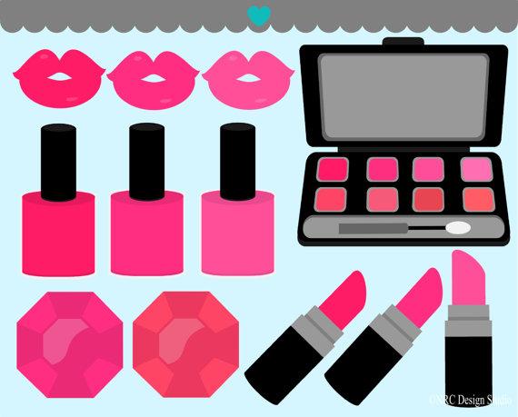 Makeup clip art free clipart images 6