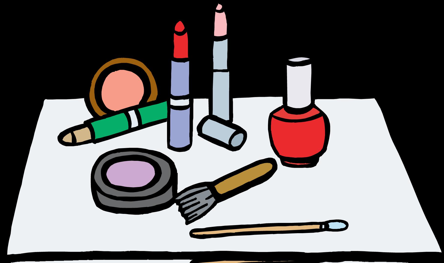 Makeup clip art free clipart images