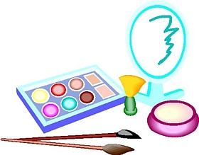 Makeup cosmetics clipart 3