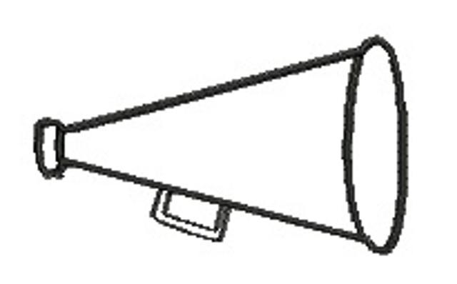 Megaphone clipart 8