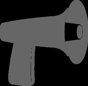 Megaphone clipart vector 2
