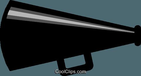 Megaphone clipart vector