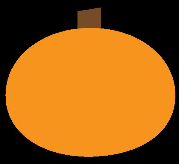 Modern pumpkin clipart
