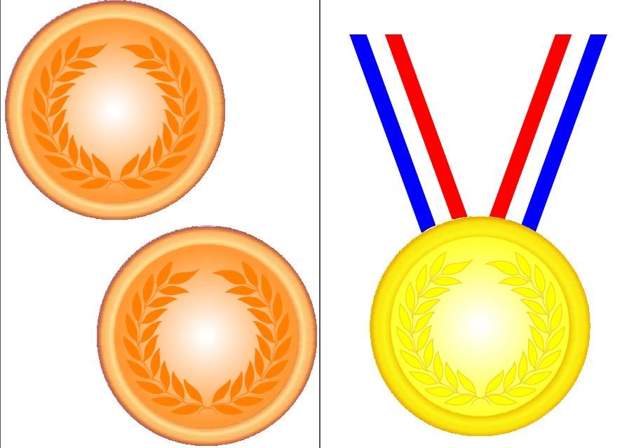 Olympic trophy clipart
