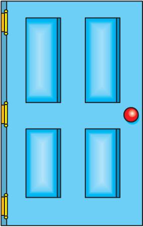Open door free clipart