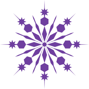 Pink snowflake clipart free images 2
