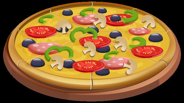 Pizza clip art image