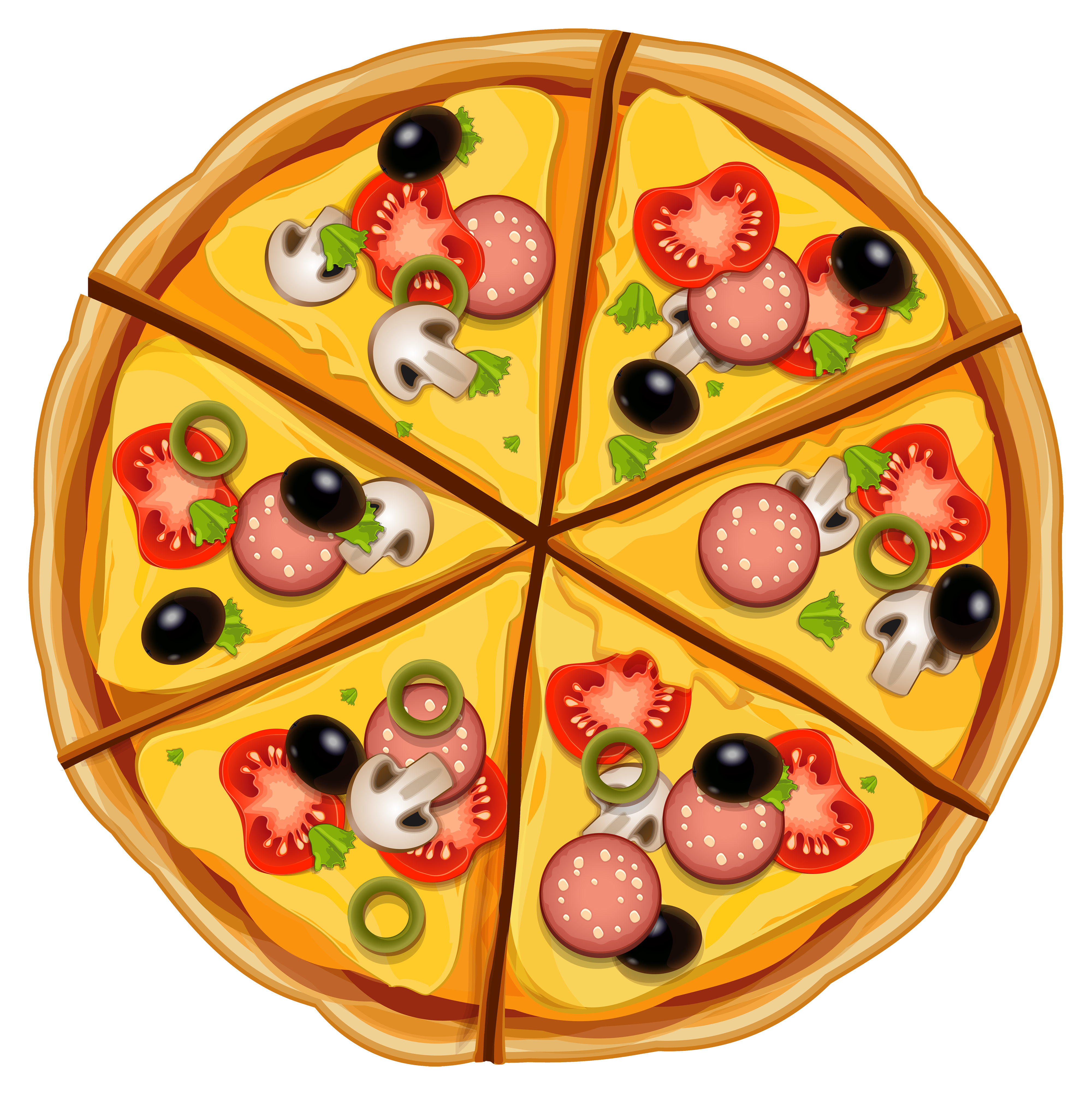 Pizza clip art tumundografico 3