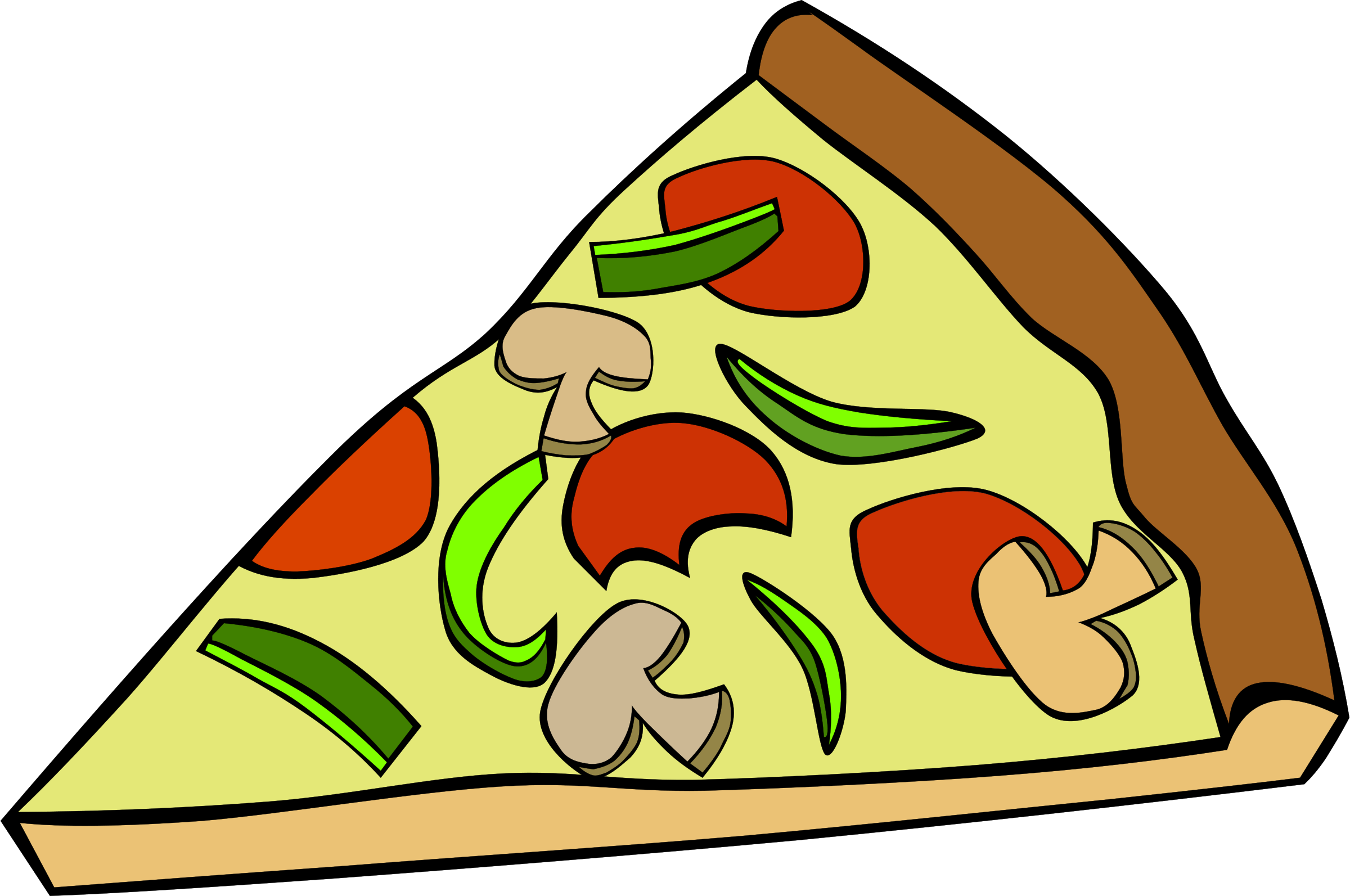 Pizza clipart background