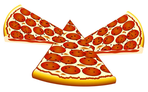 Pizza clipart no background
