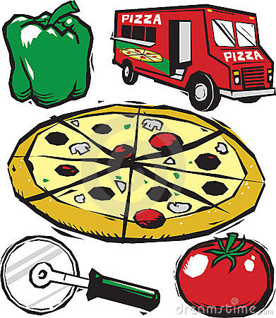 Pizza party clipart free images 4