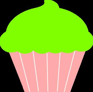 Plain cupcake clipart