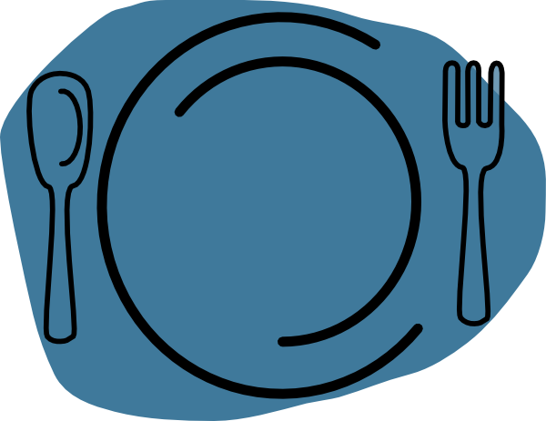 Plate lunch clipart 2